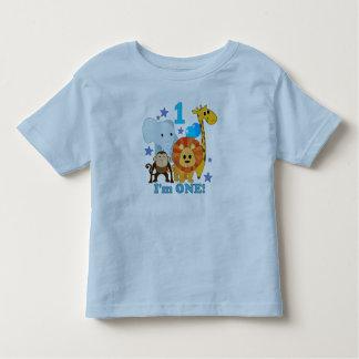 First Birthday Jungle T-shirt