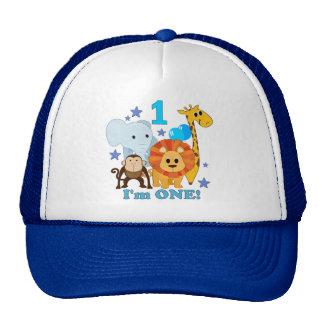 First Birthday Jungle Trucker Hat