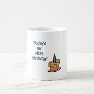 First Birthday Coffee Mug