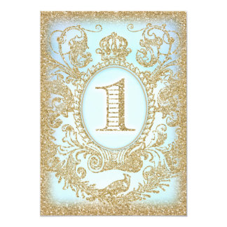 First Birthday Once Upon a Time Prince Card