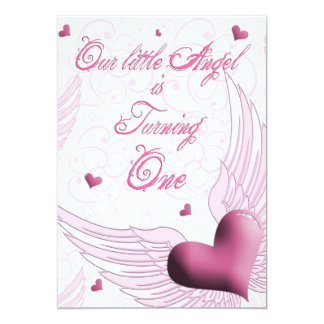 First Birthday - OurLittle Angel Card