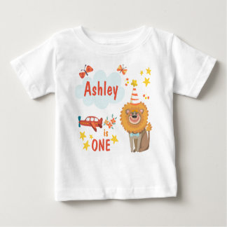 First Birthday Party Animals T-Shirt