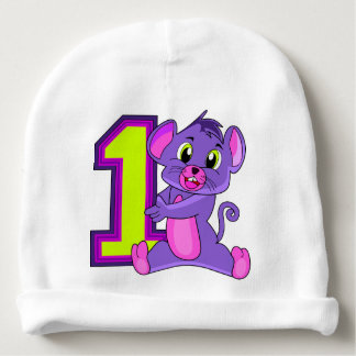 First birthday party baby beanie