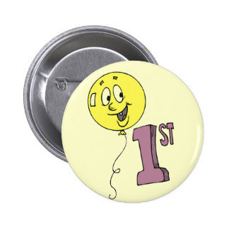 First Birthday Party Button