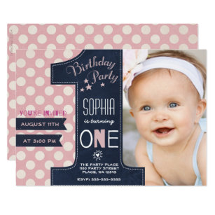 save 60 on chalkboard girl 1st birthday invitations limited time
