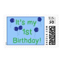 First Birthday Postage