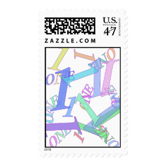 FIRST BIRTHDAY POSTAGE STAMPS