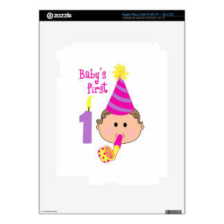 FIRST BIRTHDAY SKIN FOR iPad 3