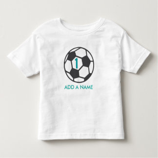 First Birthday Soccer Ball Shirt