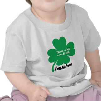 First Birthday St Patricks Day Birthday Tshirt