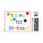 First Birthday Stamps
