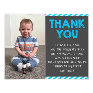 Birthday Thank You Cards | Zazzle