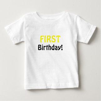 First Birthday T Shirts