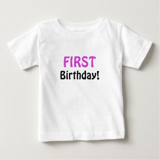 First Birthday Shirts