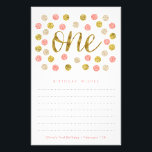 """First Birthday Wish Cards 