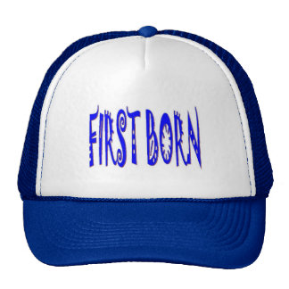 FIRST BORN BLUE HAT