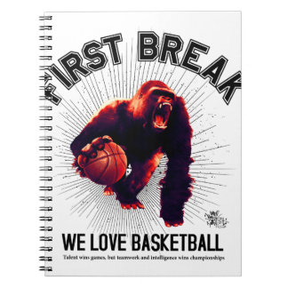 First Break Spiral Note Book