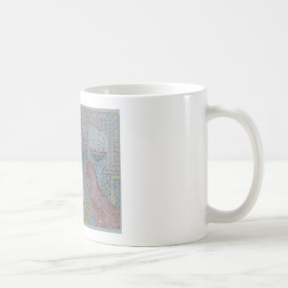 first bridge with ships coffee mug