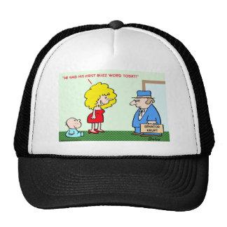 first buzz word trucker hat