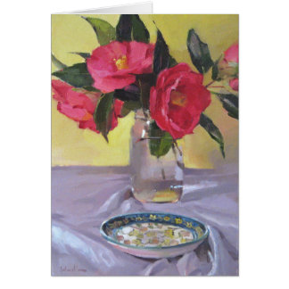 First Camellias Card