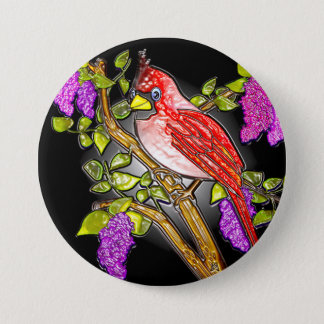 "First Cardinal (3"" lapel pin) Button"