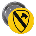 First Cavalry Pin
