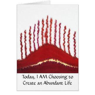 First Chakra- #3 - Money-Abundance Issues Card