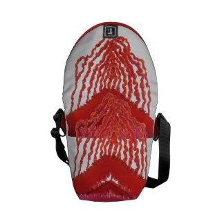 First Chakra Healing Art #2 Messenger Bag