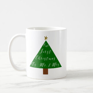 First Christmas as a Married Couple Coffee Mug