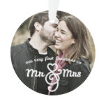 first christmas, married, mr and mrs, couple,