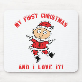 First Christmas Baby Gift Mouse Pad