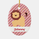 First Christmas Baby Lion Custom Ornaments