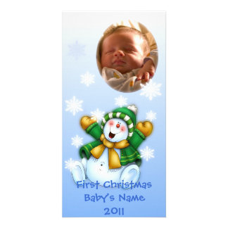 First Christmas/ Baby Photo Card