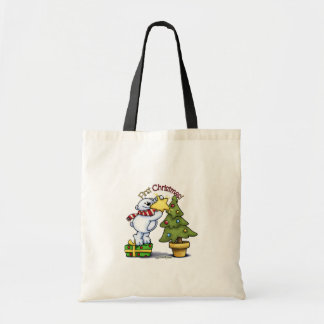 First Christmas - Beary Cute Canvas Bags