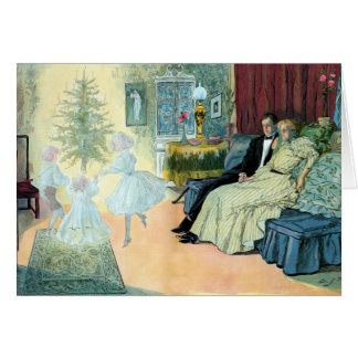 First Christmas eve; a vision of the future Card