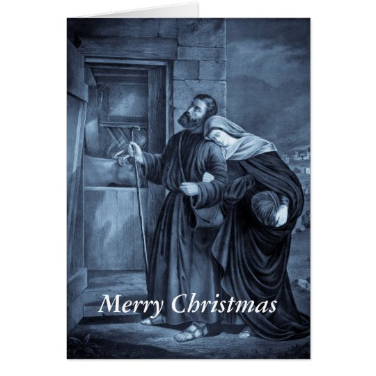 First Christmas Eve greeting card