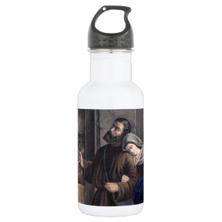 First Christmas Eve 18oz Water Bottle