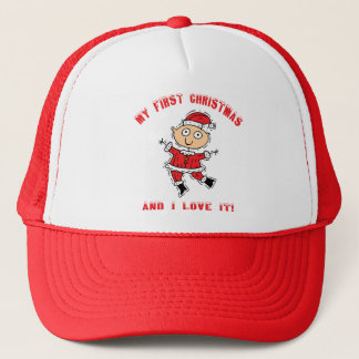 First Christmas Gift Trucker Hat