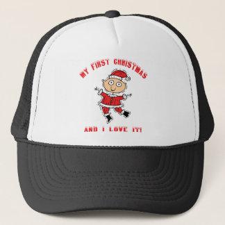 First Christmas Gift Trucker Hat