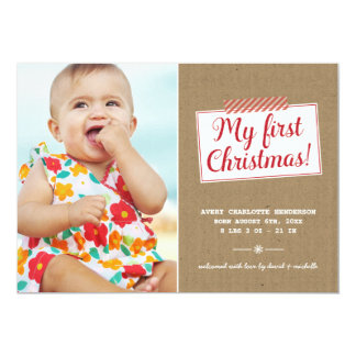 First Christmas | Holiday Photo Card