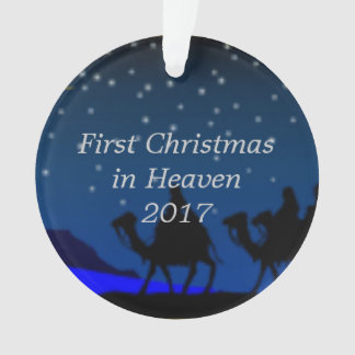 First Christmas in Heaven 2017 Ornament