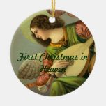 First Christmas in Heaven Angel Ornament
