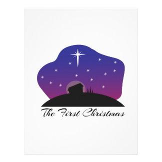 First Christmas Customized Letterhead