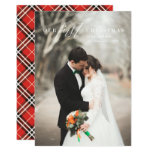 First Christmas Mr. & Mrs. Holiday Photo Card at Zazzle