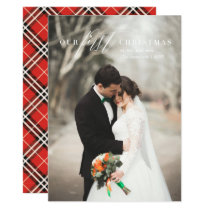 First Christmas Mr. & Mrs. Holiday Photo Card