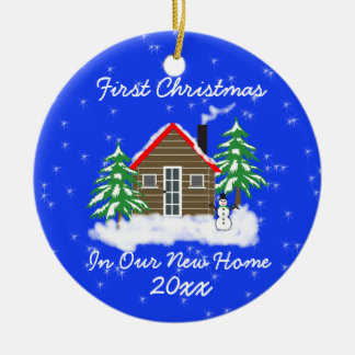 First Christmas New Home Christmas Tree Ornaments