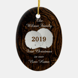 First Christmas New Home Sand Dollar Ornament