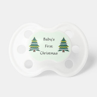 First Christmas Pacifier