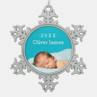 First Christmas Photo Keepsake Holiday Ornament