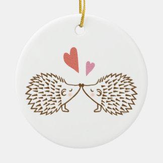 First Christmas Together Custom Hedgehog Ornament
